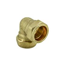 15MM  BRASS COMPRESSION ELBOW