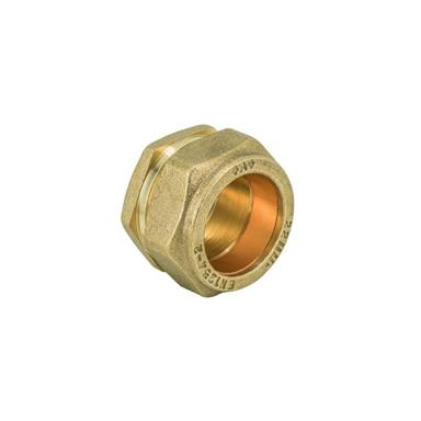 15MM BRASS COMPRESSION STOP END