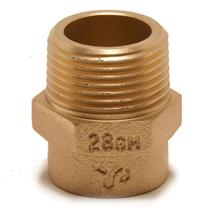 SR3 SOLDER RING STRAIGHT MALE CONNECTOR 22MMx3/4''