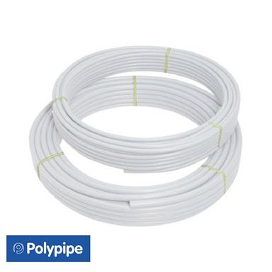 FIT2510B POLYFIT 25 METRE WHITE 10MM BARRIER COILED PIPE