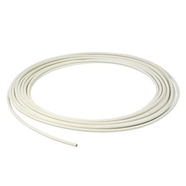 WEDNESBURY Protec 10mm Plastic Coated Microbore Copper Tube, 10 metres Coil, White