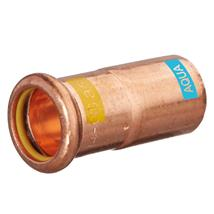 M-PRESS Aquagas Copper 22mm x 15mm Socket Reducer, 994302215