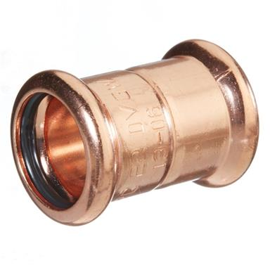 M-Press Copper 28mm Straight Coupler