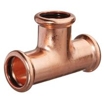 M-PRESS Copper 108mm Equal Tee, 6810108108108