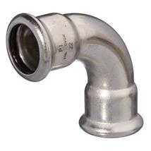 M-Press FKM 22mm S/S 90 Degree Elbow