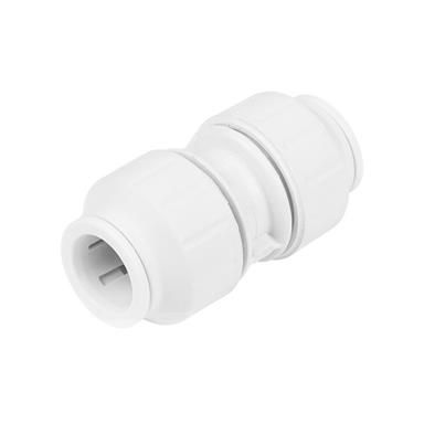 SPEEDFIT Straight Connector 15mm White, PEM0415W