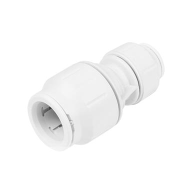 SPEEDFIT Straight Reducer 22mm x 15mm White, PEM202215W