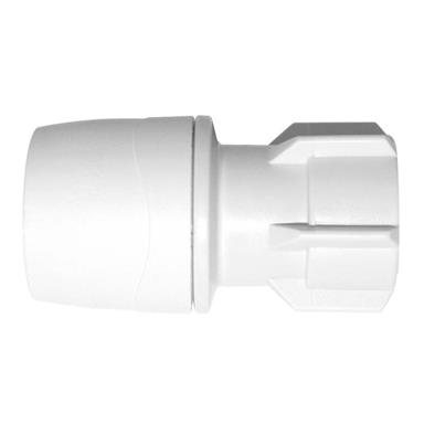 MAX2722 Polymax Hand Tighten Tap Connector22mmx3/4""