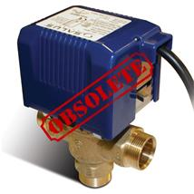 SALUS Controls 22mm 3-Port Motorised Mid-Position Valve, SBMV32