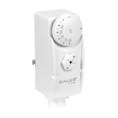 SALUS Cylinder/Pipe Thermostat, CT100