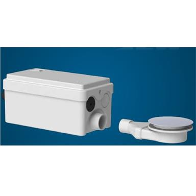 SANIFLO SaniSHOWER Flat Domestic Lifting Station (Shower + 1 Outlet), 1043/3