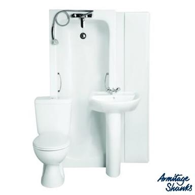 ARMITAGE SHANKS Sandringham21 'Bathroom To Go' Boxed Pack incl. 1 TH Basin, S050001