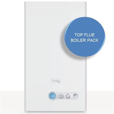 Vokera Vision 30C Combination Boiler and Top Flue