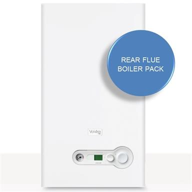 Vokera Vision 25S System Boiler and Rear Flue