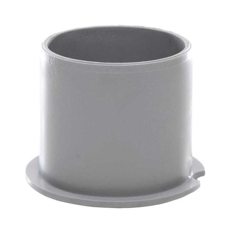 Polypipe Push Fit Waste 40mm Socket Plug Grey Wp30g