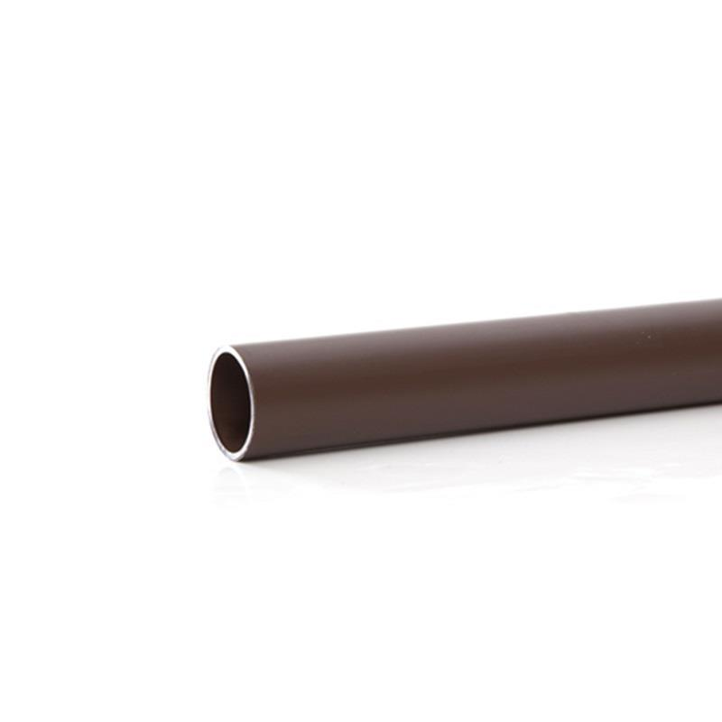 Polypipe 40mm solvent weld waste pipe 3 0 metres brown for 90mm soil pipe