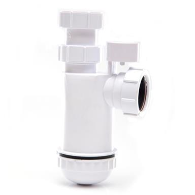 WPT48PV 40MM ANTI-SYPHON ADJUSTABLE TELESCOPIC BOTTLE TRAP