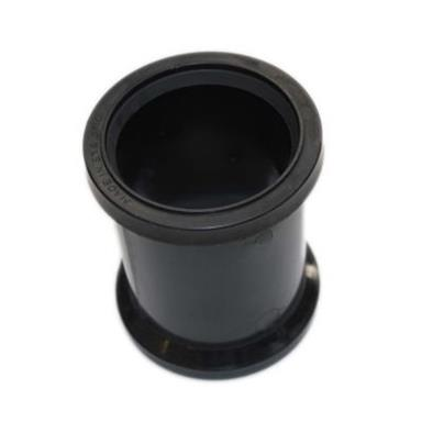 SH34 82MM POLYPIPE DOUBLE SOCKET BLACK