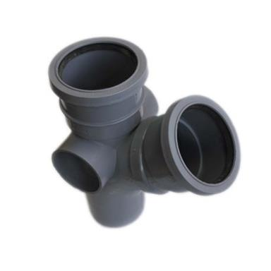 ST304 82MM POLYPIPE 135 DEGREE BRANCH GREY