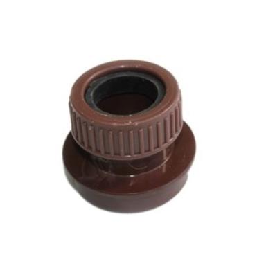 SN63 32MM POLYPIPE STRAIGHT BOSS ADAPTOR SOLVENT/COMP BROWN