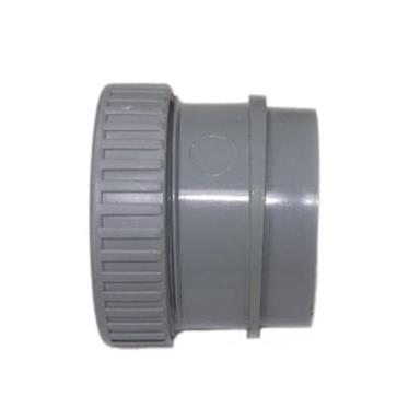 SN68 50MM POLYPIPE ANGLED BOSS ADAPTOR SOLVENT/COMP GREY