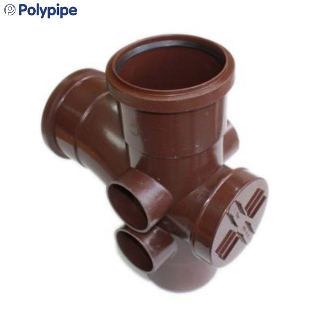 Polypipe Ring Seal Soil And Vent 110mm Access Branch 92