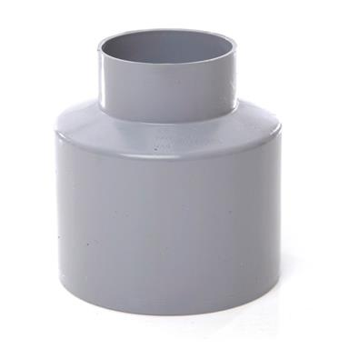 SO65 110MM POLYPIPE REDUCER TO WASTE REQUIRES BOSS ADAPTOR GREY