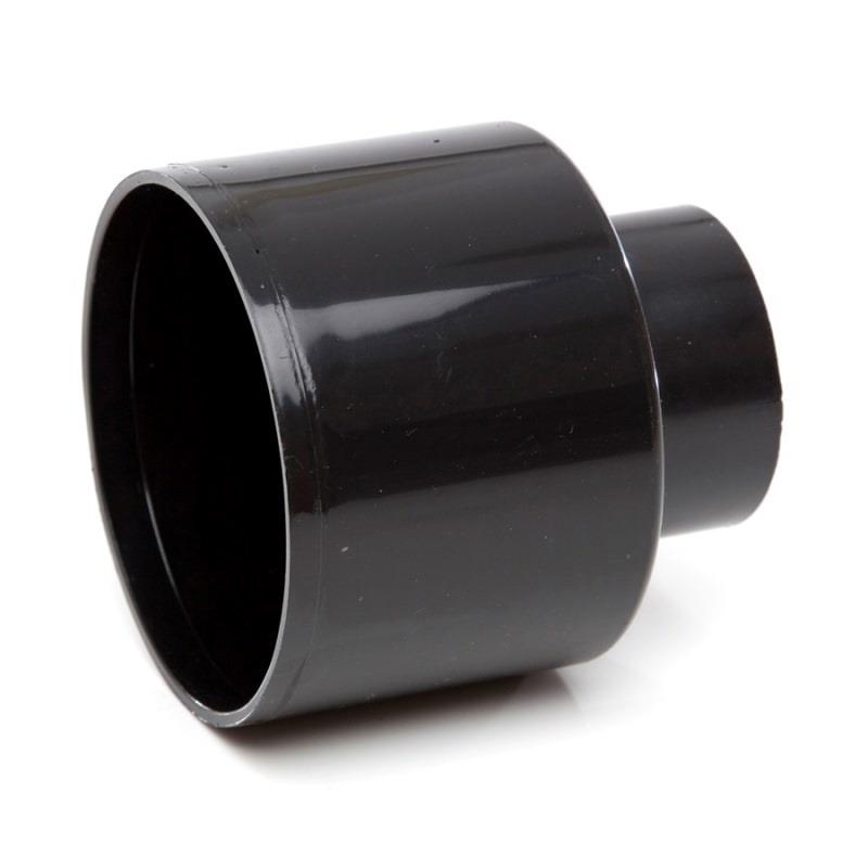 Polypipe soil and vent concentric reducer to waste