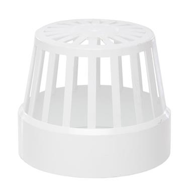 SV42 110MM POLYPIPE VENT TERMINAL WHITE
