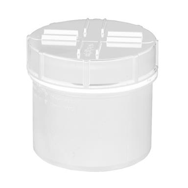 SA62 110MM POLYPIPE SPIGOT ACCESS CAP WHITE