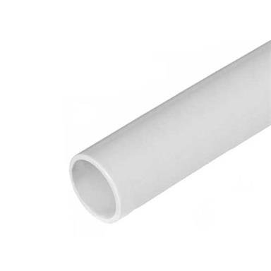 POLYPIPE 21.5mm Solvent Weld Overflow Pipe, 3.0 metres, White, NS43W
