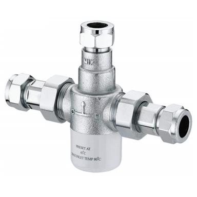 Sirrus by Gummers 15mm Thermostatic MixingValve TMV2 and TMV3 approved