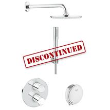 GROHE Grohtherm 3000 Cosmopolitan Bath/Shower Shower Solution Pack 4, 118329