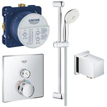 GROHE Grotherm Smartcontrol One Button Perfect Shower Set, 119244
