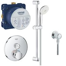 GROHE Grotherm Smartcontrol One Button Perfect Shower Set, 119245