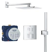 GROHE Grohtherm Perfect Shower Set w/ Rainshower Allure 230, Chrome, 34741 000
