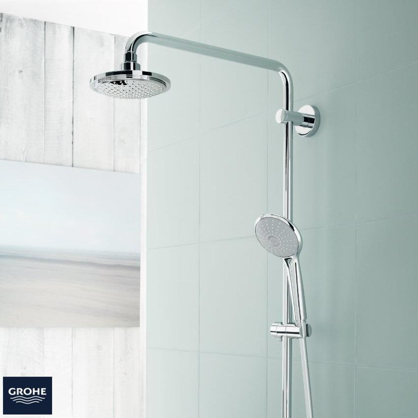 Grohe Euphoria System 180 Thermostatic Bar Shower 2