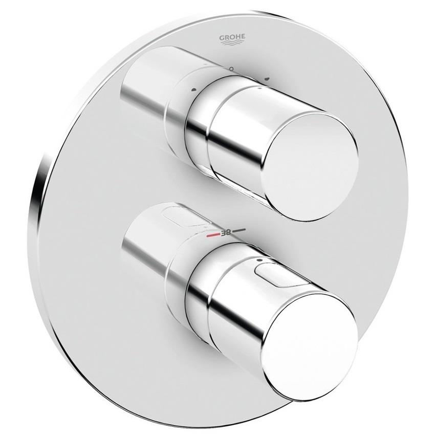 Grohe Grohtherm 3000 Cosmopolitan Thermostatic Mixer Trim