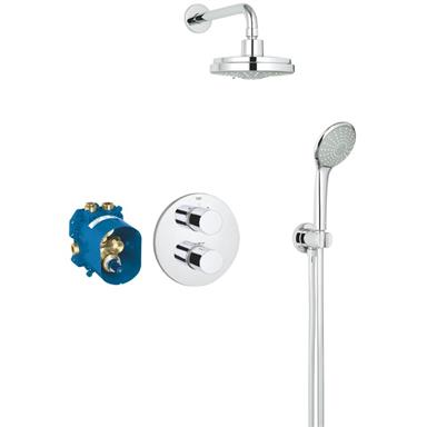 GROHE Grohtherm 3000 Cosmopolitan Thermostatic Perfect Shower Set 34399 000