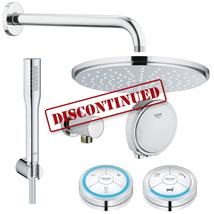 GROHE Veris F-Digital + Rainshower Digital Bath/Shower Solution Pack 1, 118332