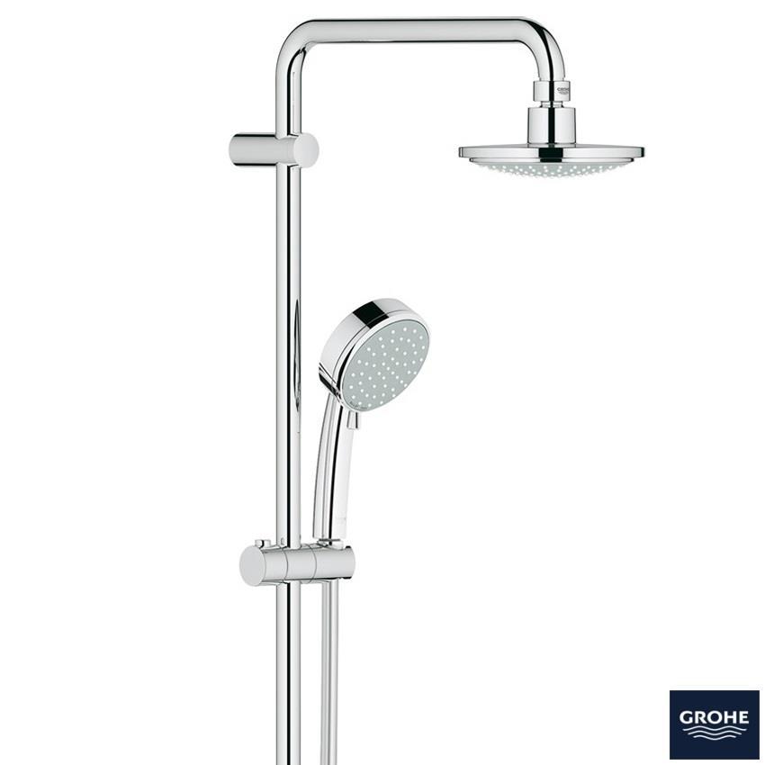 grohe new tempesta cosmopolitan system 160 bar shower 2. Black Bedroom Furniture Sets. Home Design Ideas