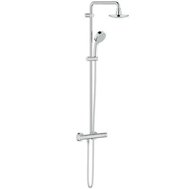 GROHE New Tempesta Cosmopolitan System 160 Bar Shower Set, Chrome Plated, 27922 000