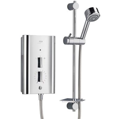 MIRA Escape Thermostatic 9.8kW Electric Shower Complete with Kit, Chrome 1.1563.011