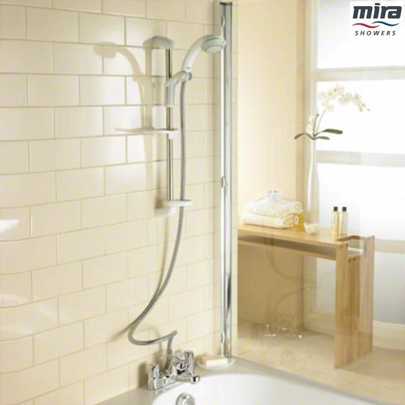 Mira Extra Bsm Sequential Bath Shower Mixer Kit Chrome
