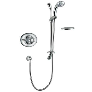 MIRA Excel Thermostatic BIV Mixer Shower Kit Chrome 1.1518.303