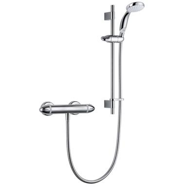 MIRA Coda Pro Exposed Thermostatic Bar Shower and Kit