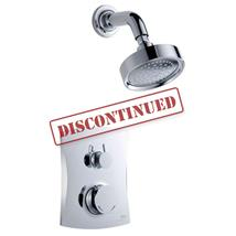 MIRA Discovery Dual Thermostatic BIV Mixer BIR Shower Kit Chrome 1.1609.003