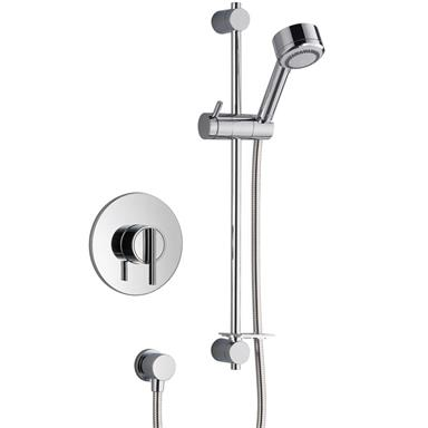 MIRA Silver Thermostatic BIV Sequential Mixer Shower Kit Chrome 1.1628.002