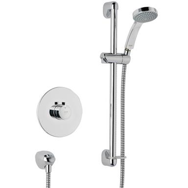 MIRA Minilite Thermostatic BIV Sequential Mixer Shower Kit Chrome 1.1663.007