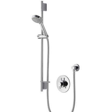 AQUALISA Aspire DL Thermostatic BIV Shower Kit, Chrome Plated, ASP001CA